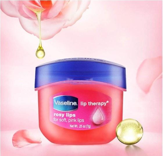 Producto de Vaseline para el cuidado de los labios