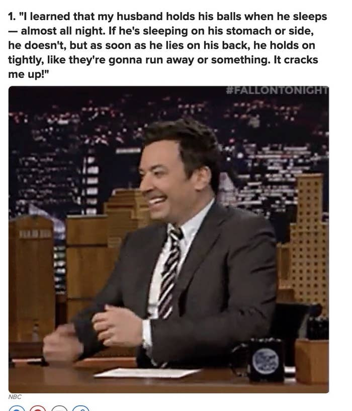 man laughing on tv show