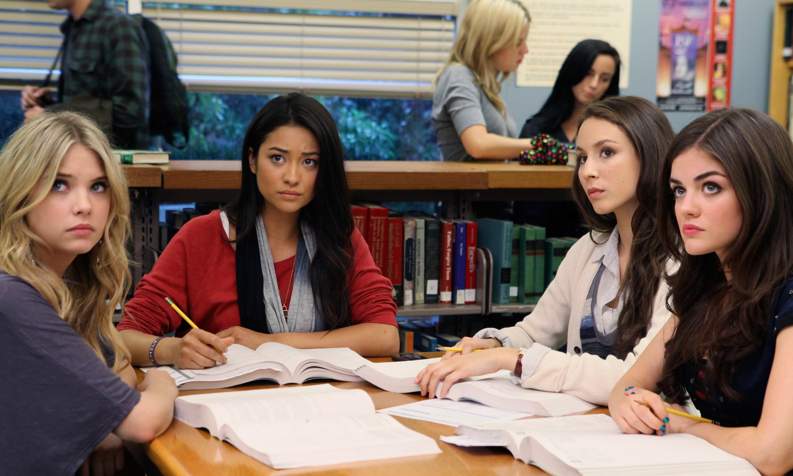 the liars studying for once