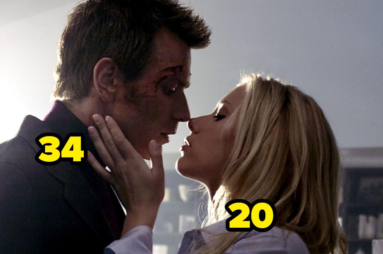 Ewan McGregor is 34 andScarlett Johansson is 20