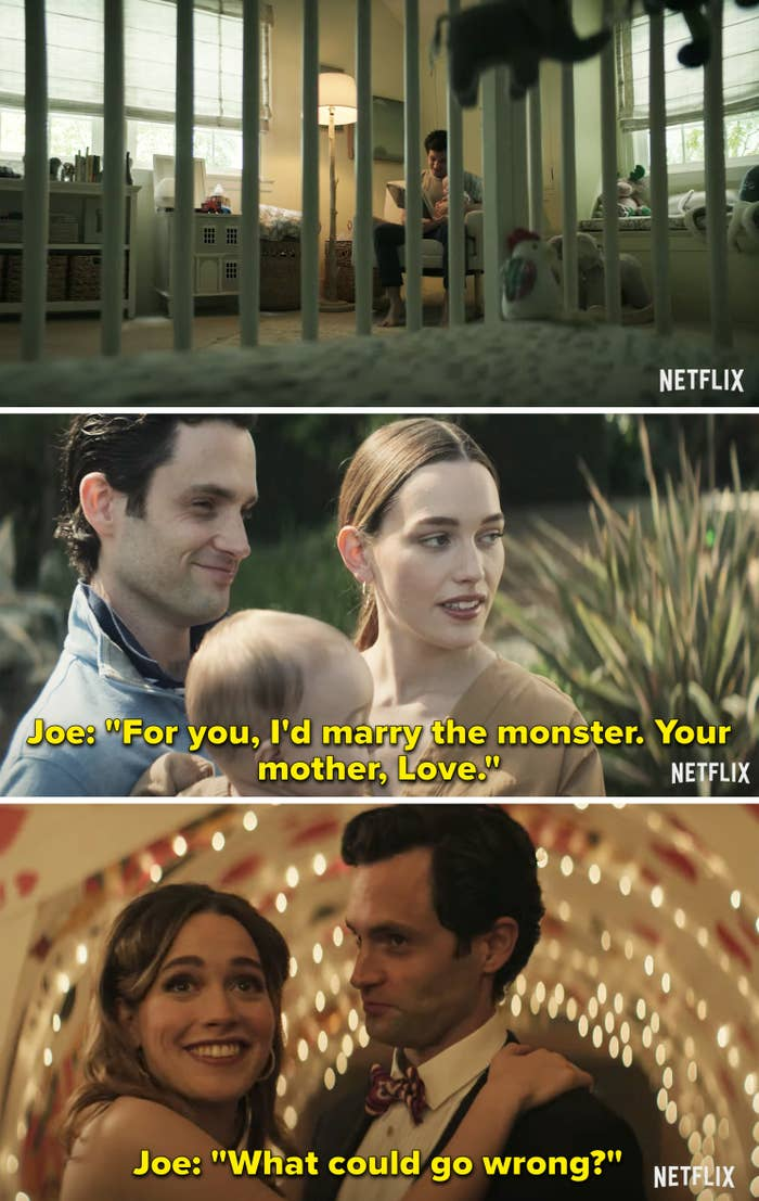 """Joe says """"For you, I'd marry the monster. Your mother, Love. What could go wrong?"""""""