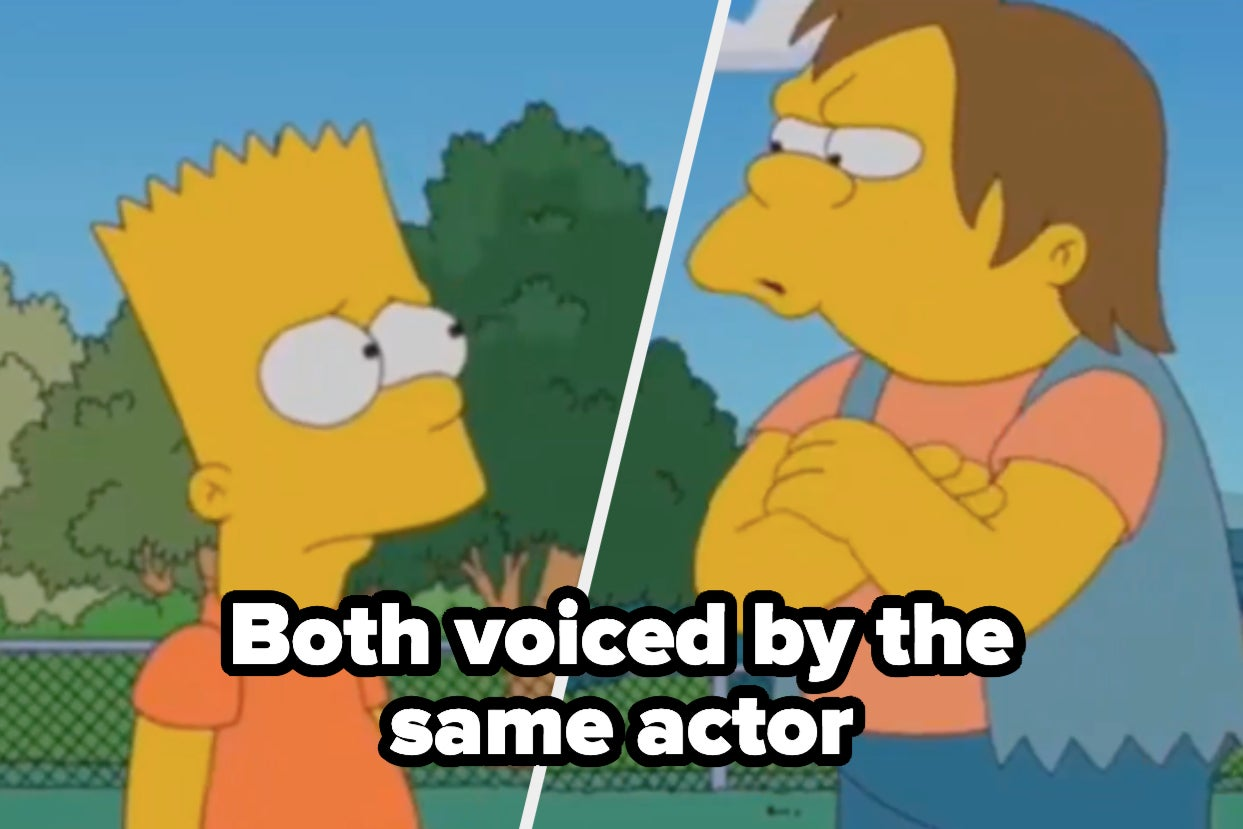 """Can You Actually Place The Names And Faces Behind These Iconic Characters From """"The Simpsons""""?"""