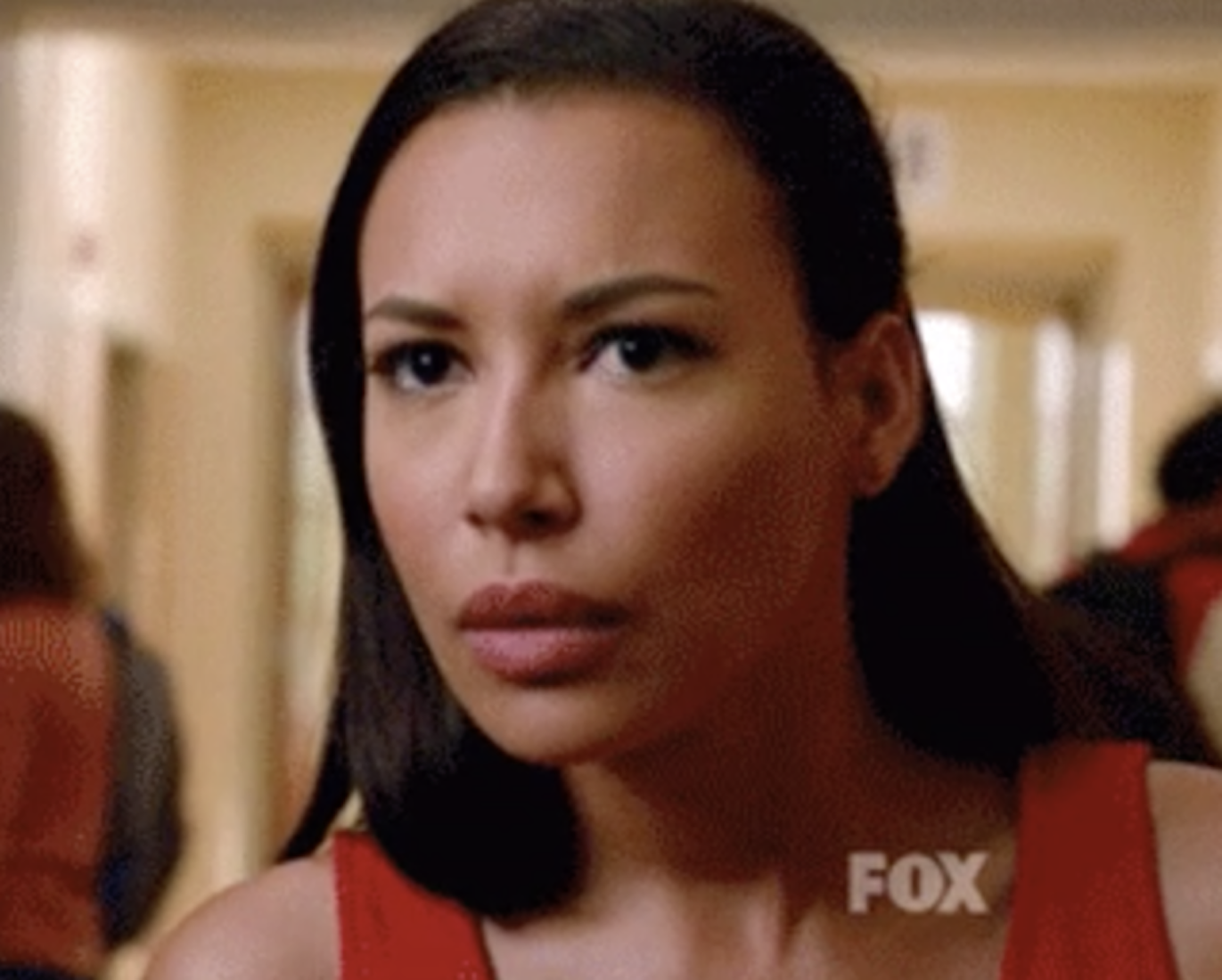 """Santana from """"Glee"""" making a confused/disgusted expression"""