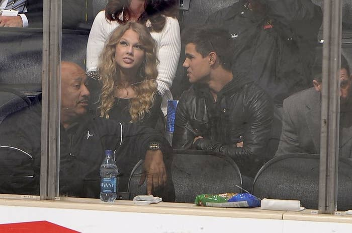 they look bored at the hockey game