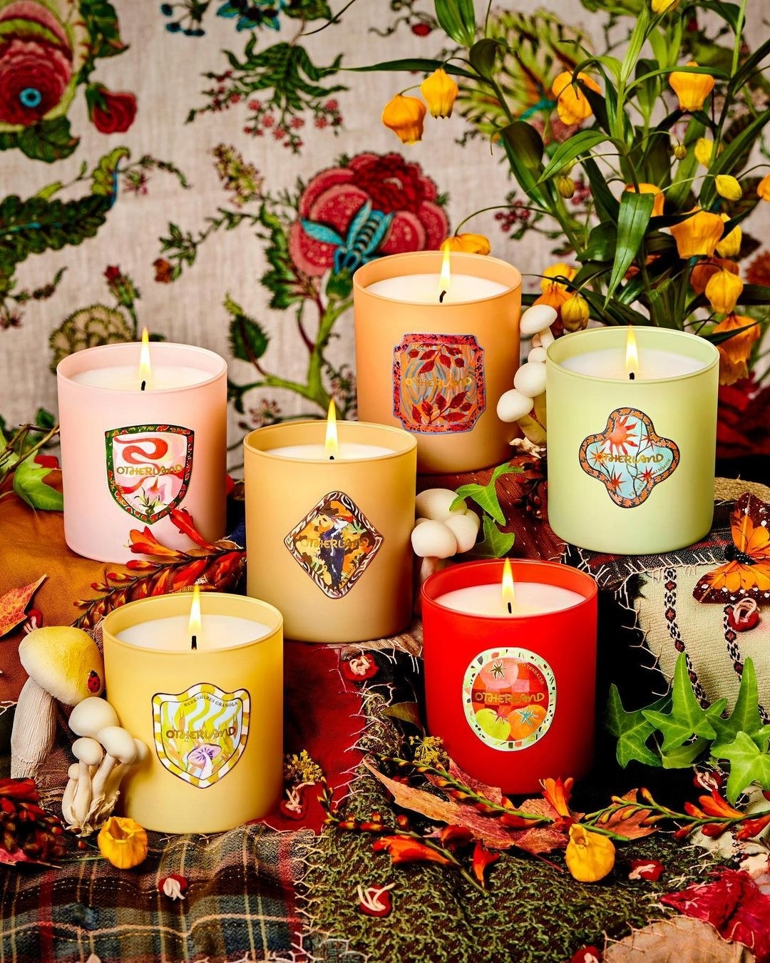 The autumnland candle collection