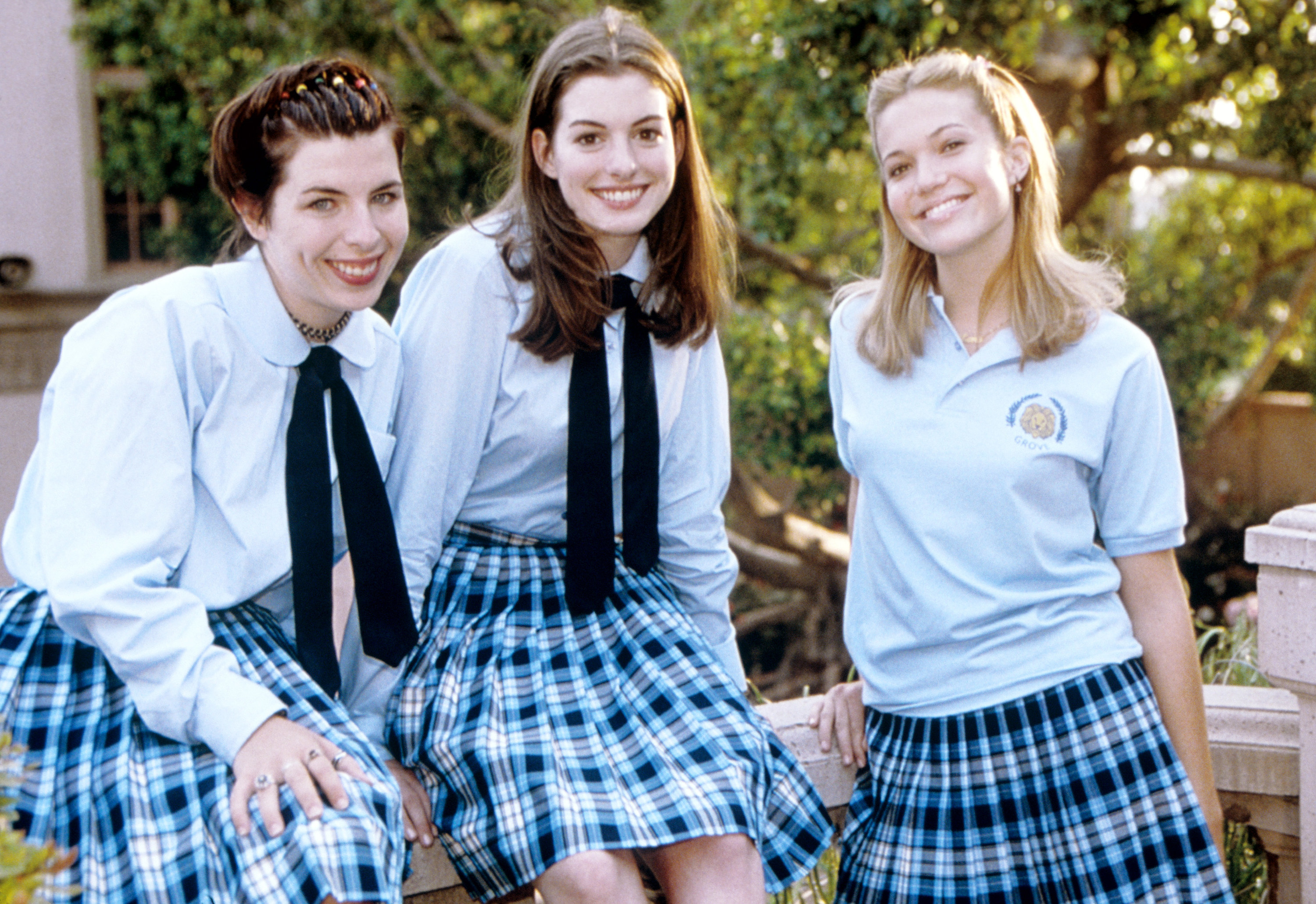 """Lily, Mia, and another student from """"The Princess Diaries"""""""