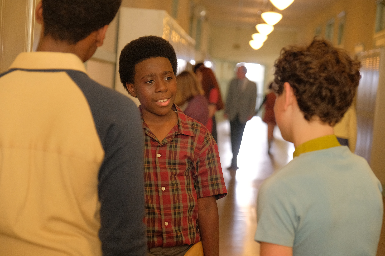 "Elisha ""EJ"" Williams in his role as Dean Williams"