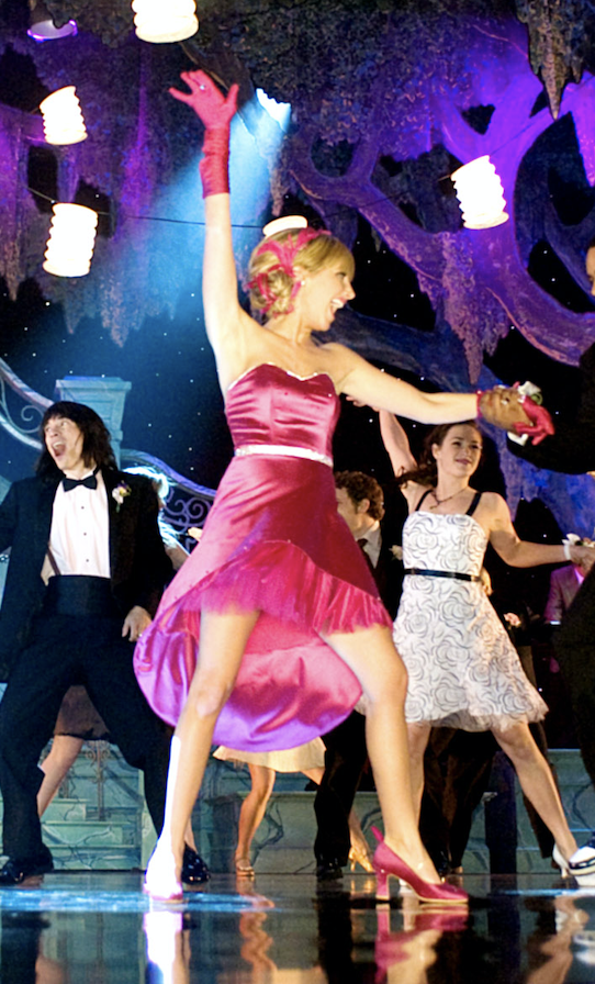 Sharpay dancing onstage