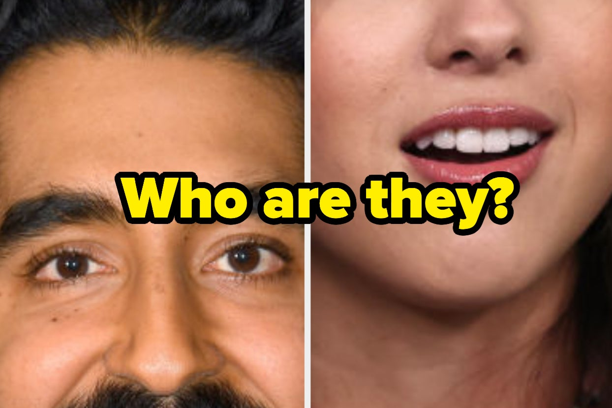 I'm Only Giving You 45% Of These Celebs' Faces — How Many Can You Name?