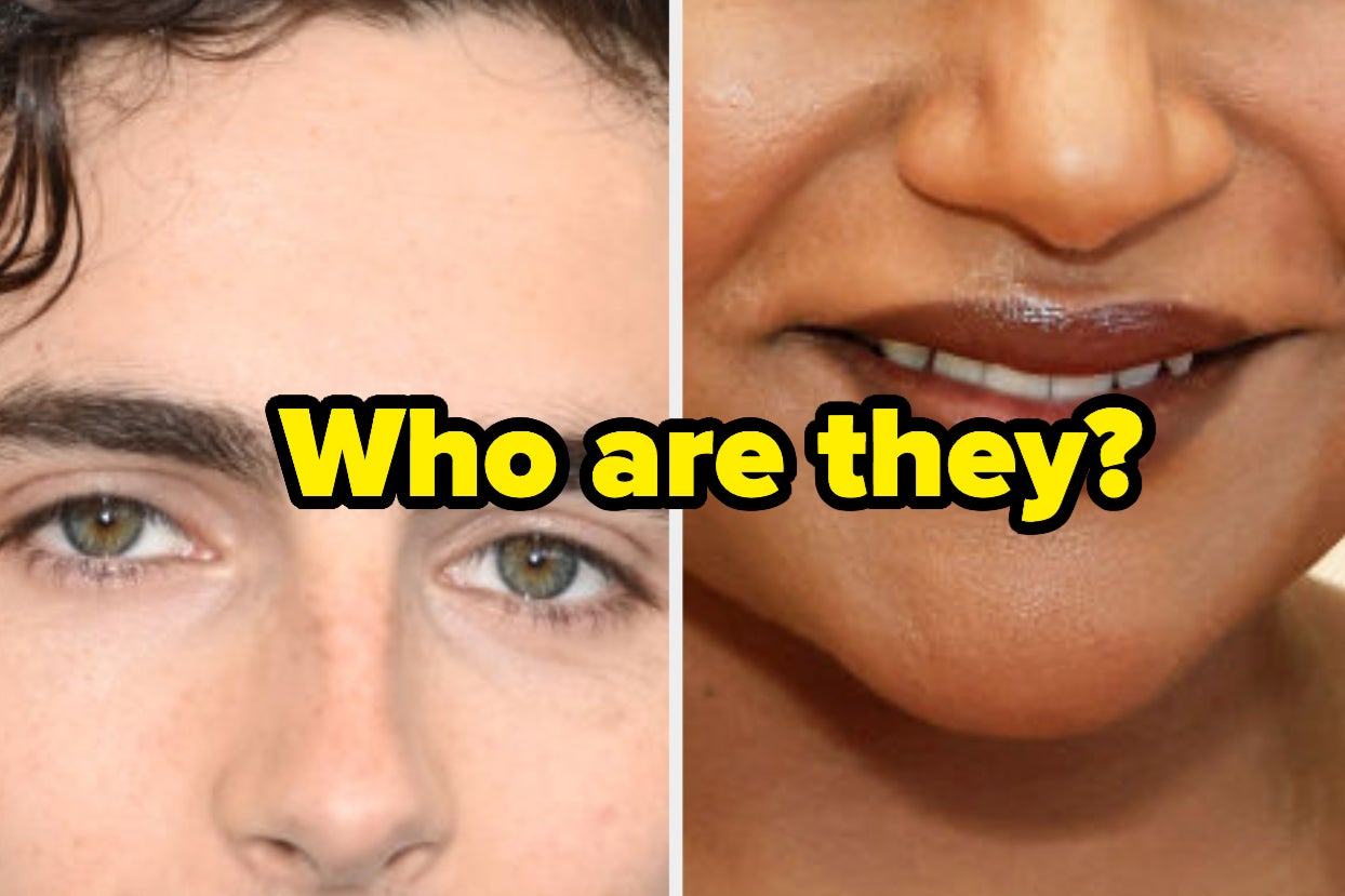 Can You Recognize These Celebs From Only Half Of Their Face?