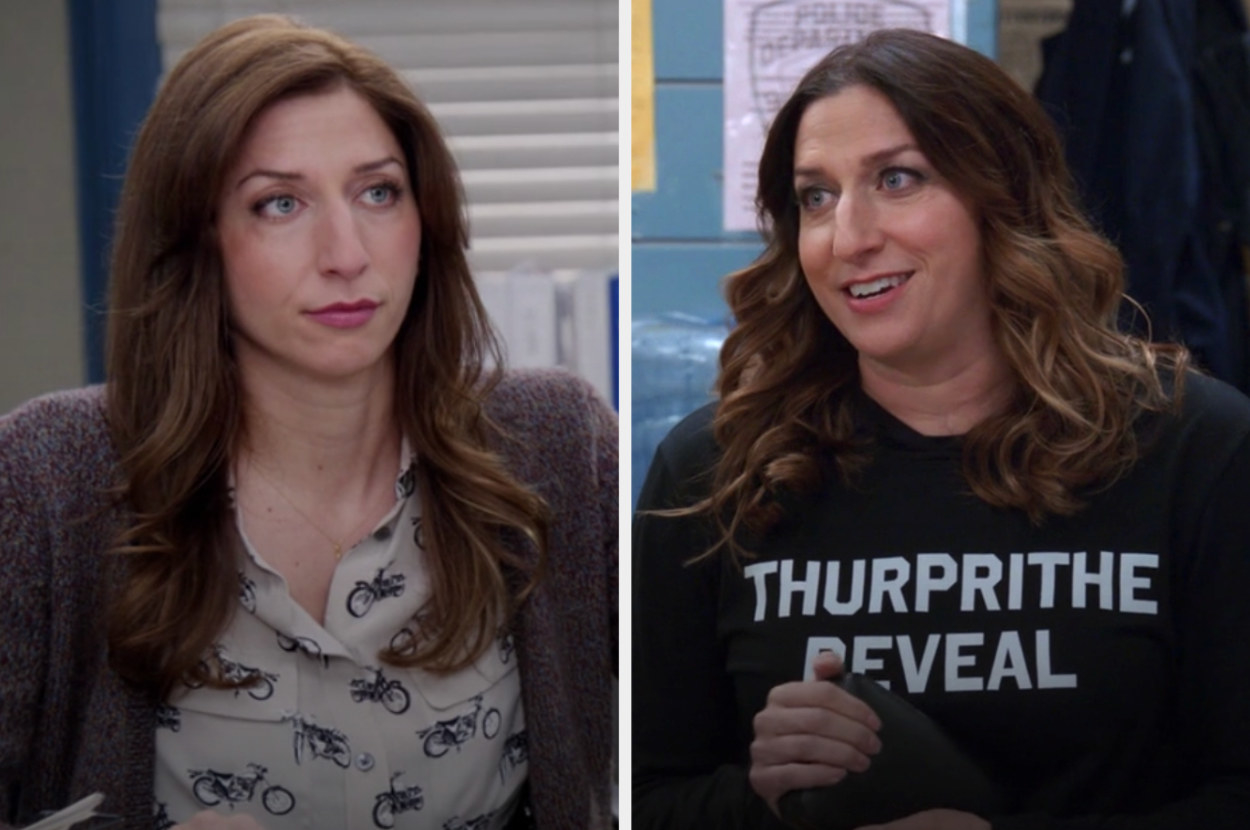 Gina in the first and last episode