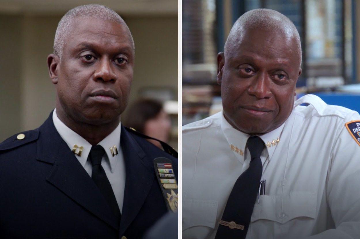 Holt in the first and last episode