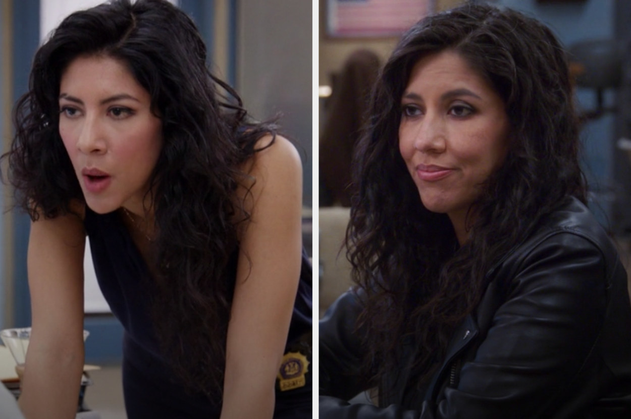 Rosa in the first and last episode