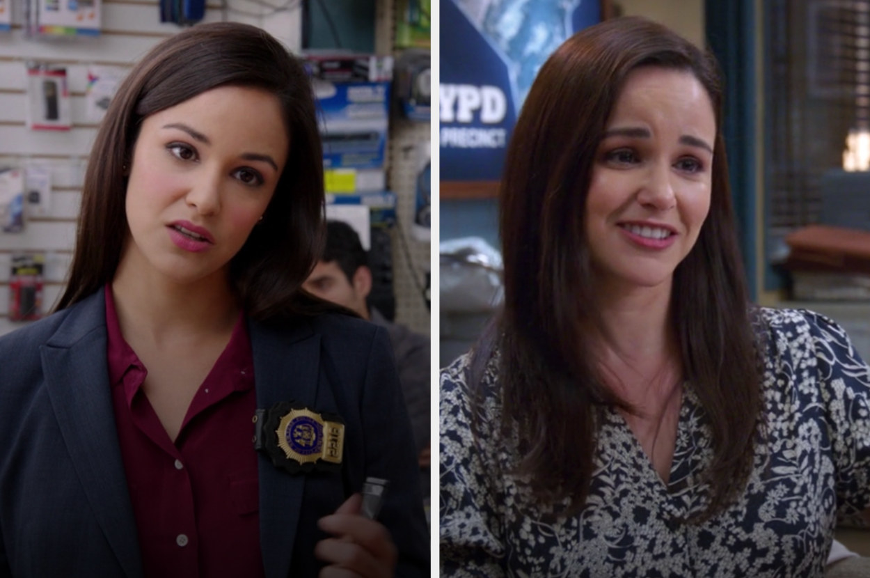 Amy in the first and last episode