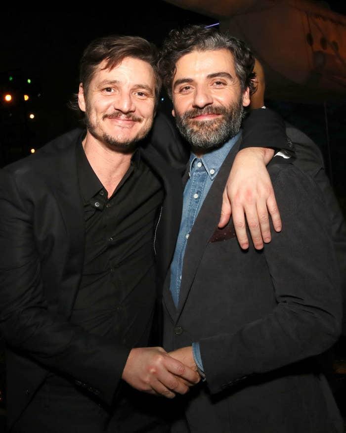 Pedro Pascal and Oscar Isaac