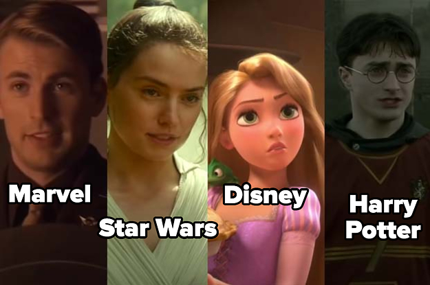 """It's Time To Choose Between These Marvel, """"Star Wars,"""" """"Disney,"""" And """"Harry Potter"""" Characters"""