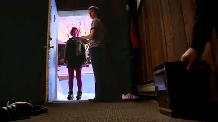 Woman in doorway in Scott Pilgrim vs. The World