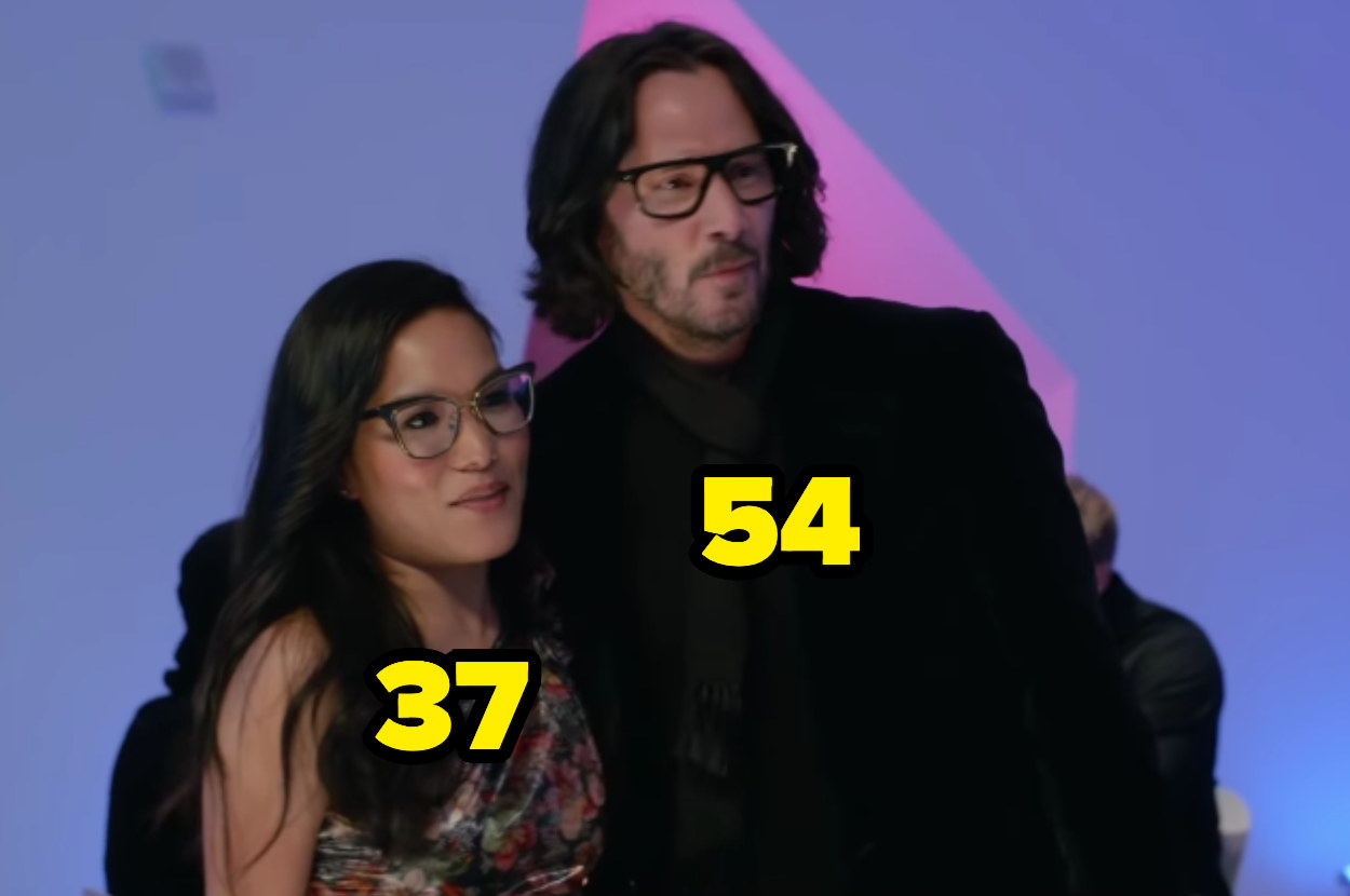 37-year-old Ali Wong and 54-year-old Keanu Reeves