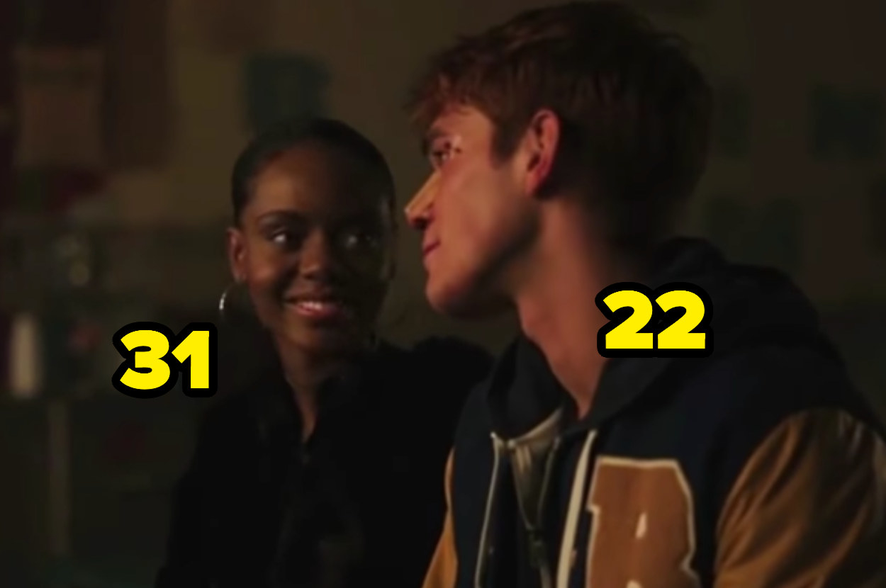 31-year-old Ashleigh Murray and 22-year-old KJ Apa
