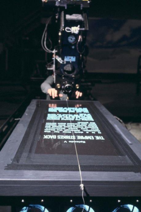 Star Wars opening crawl scene