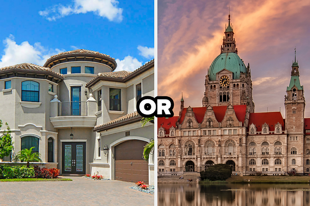 Look At Some Mansions And We'll Let You Know Which One You Belong In