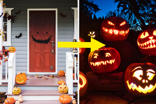 Customize Your Home In Halloween Decorations And We'll Reveal Which Festive Decoration Best Represents You