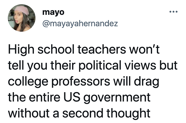 33 Pictures That Prove Just How Different High School Teachers And College Professors Are