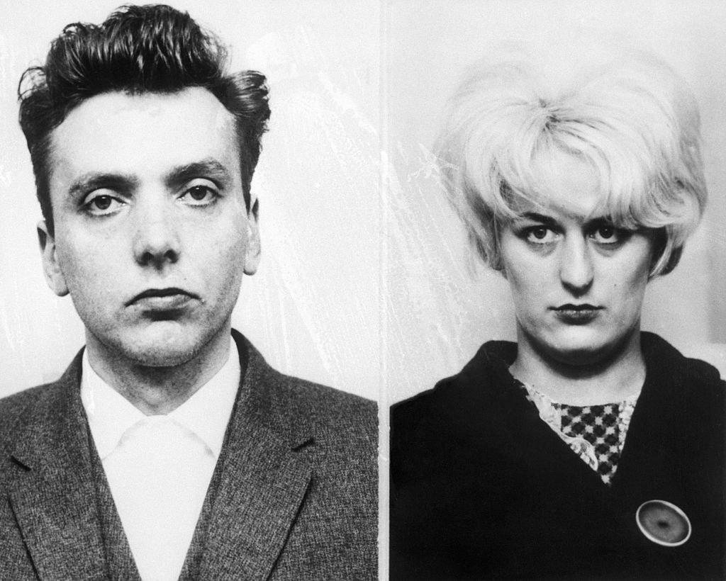 Mugshots of Ian Brady and Myra Hindley