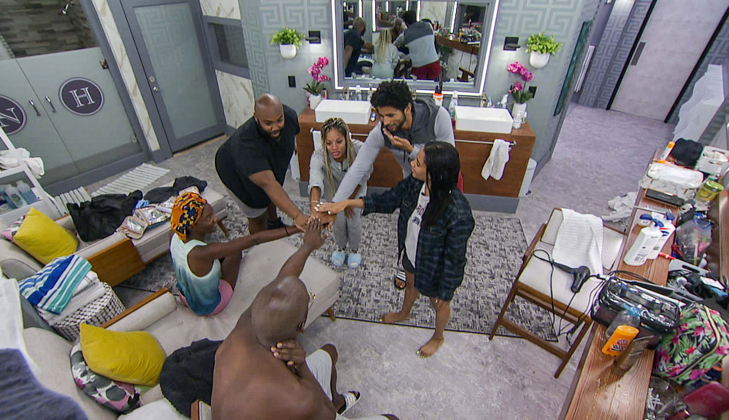 Photo of the Cookout alliance from Big Brother 23