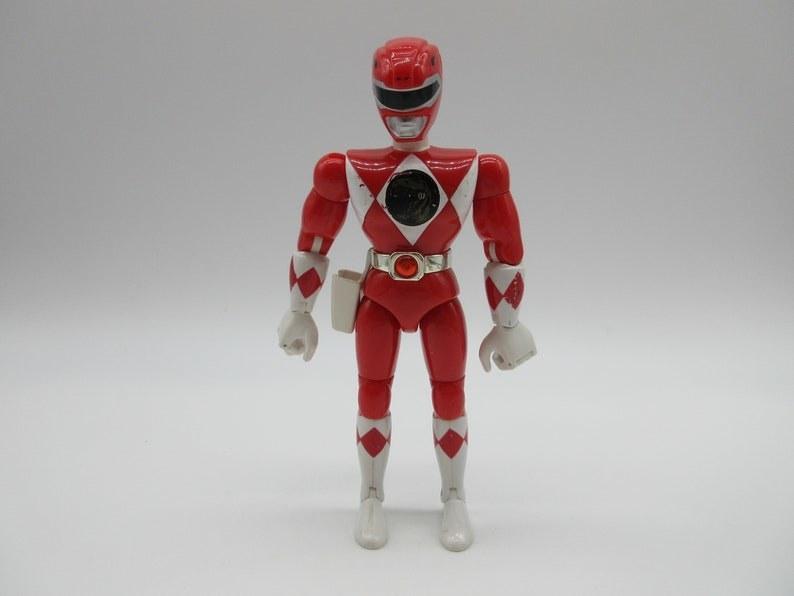 Red Power Ranger figure