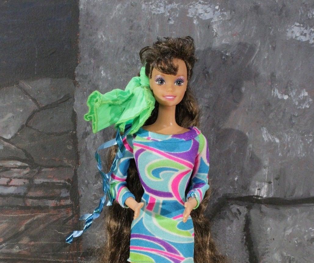 Totally Hair Teresa Barbie doll