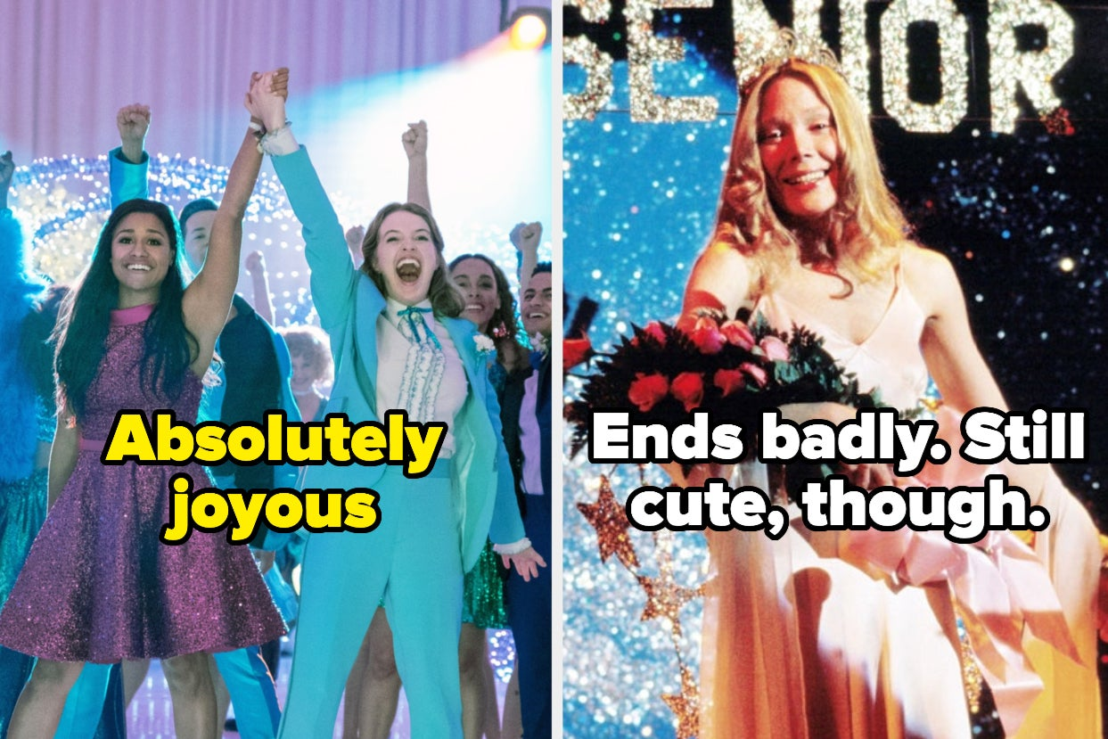 """23 TV And Movie Prom Dresses Ranked From """"Eh"""" To """"You Should Get Married In That"""""""