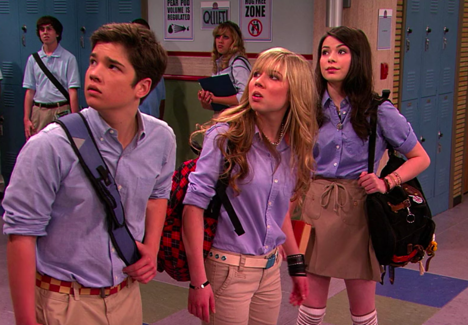 """Freddie, Sam, and Carly from """"iCarly"""""""