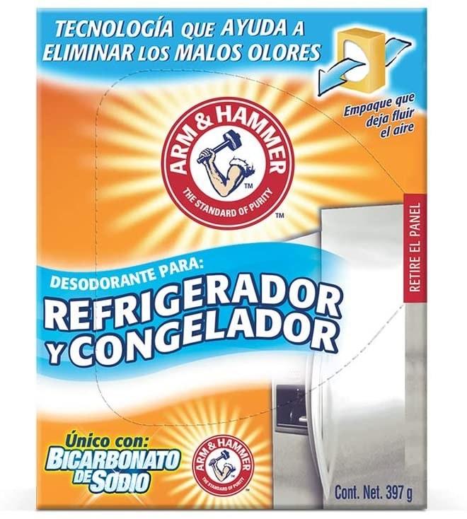 Desodorante para refri con bicarbonato