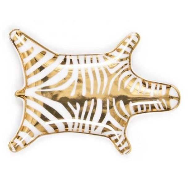 gold trinket dish