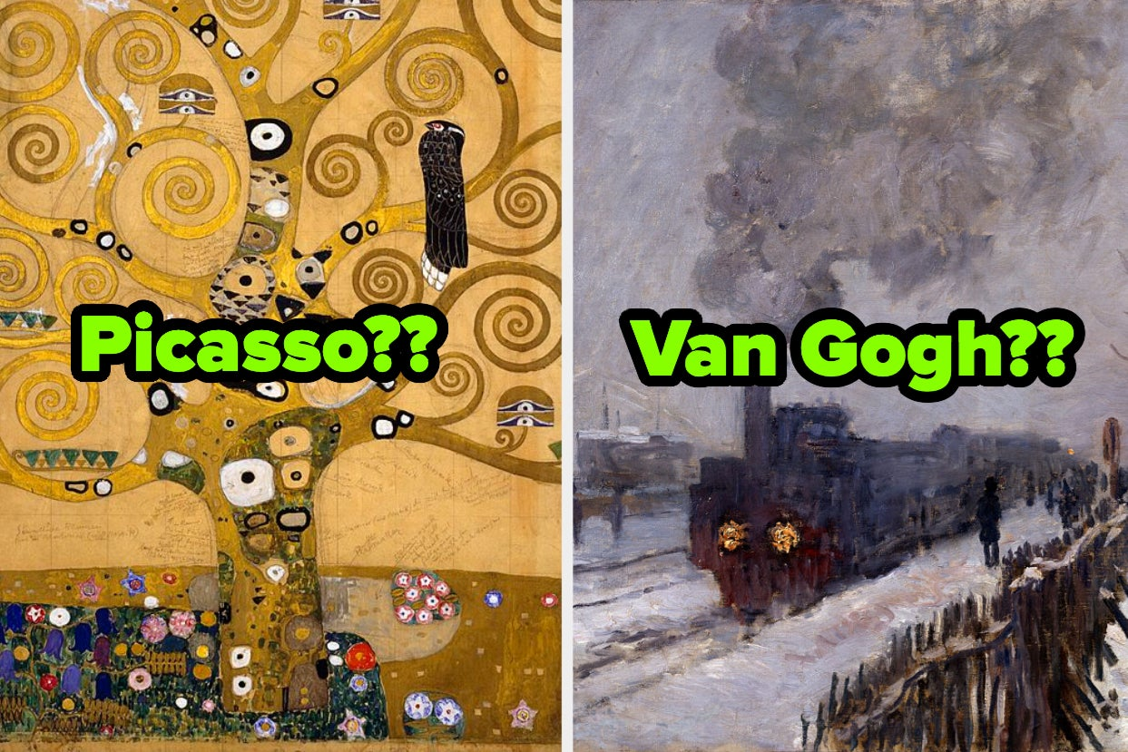 Only Real Art Connoisseurs Will Be Able To Match These Famous Painters To Their Less Famous Art Pieces