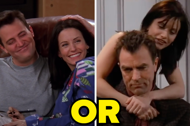 """Since I Like Starting Arguments, I've Made A Controversial """"Friends"""" Couple Poll"""