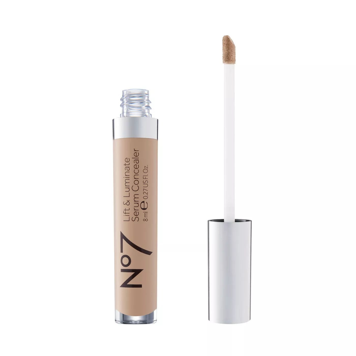 The No7 lift and luminate serum concealer