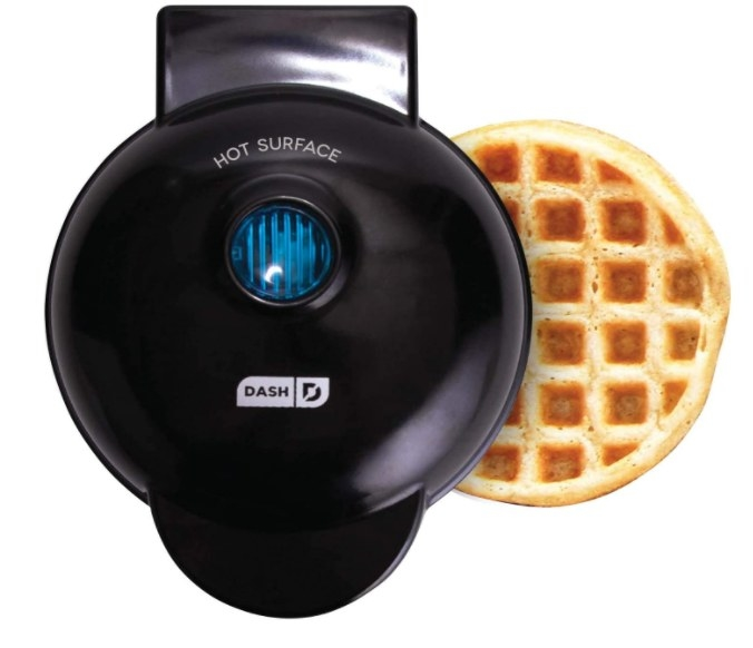 Foto de máquina para preparar waffles.
