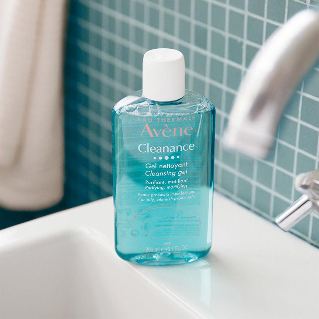 Avene cleanance gel, limpiador facial sin jabón