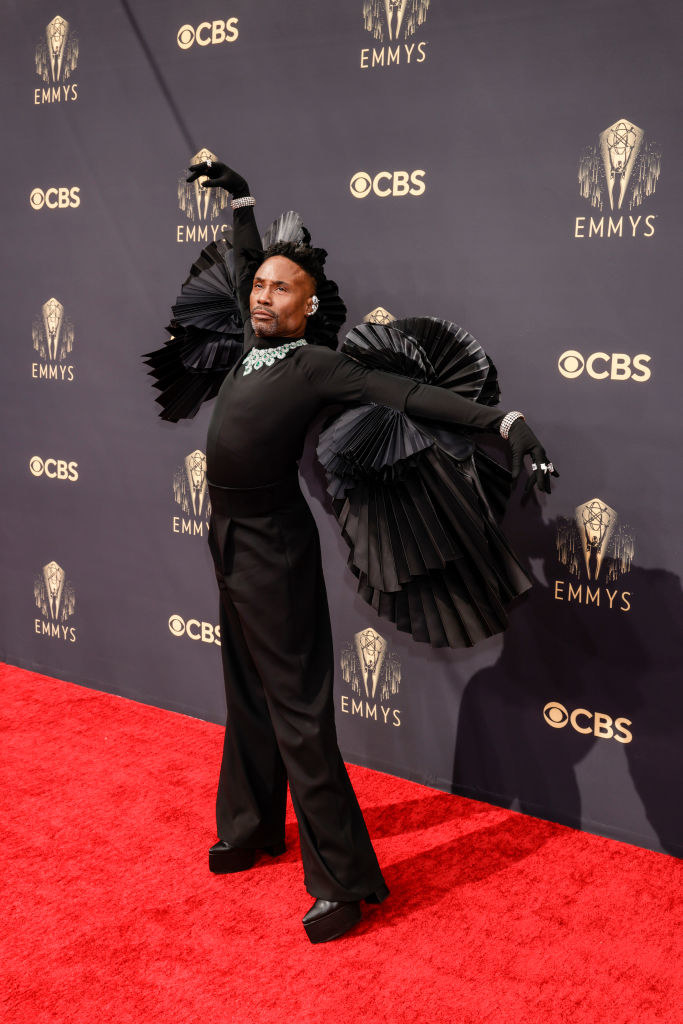 Billy Porter from Pose attends the 73rd Emmy Awards