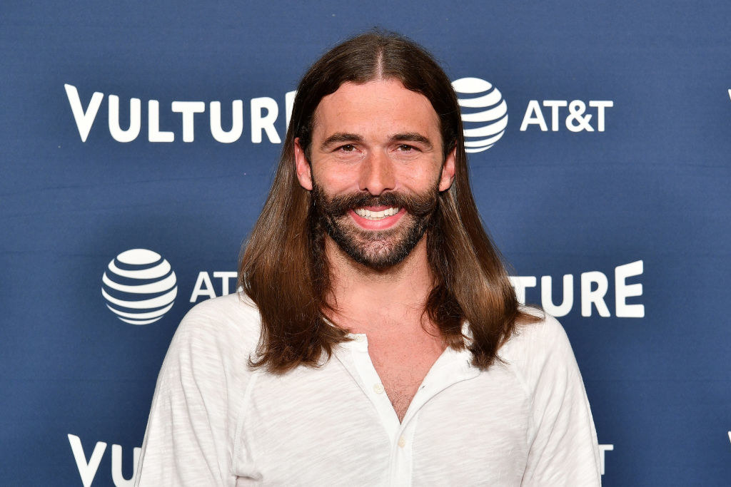 Van Ness at an AT&T event