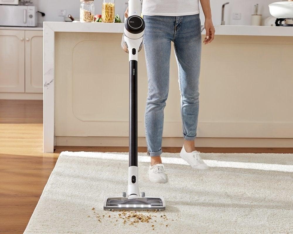 a model using a vacuum