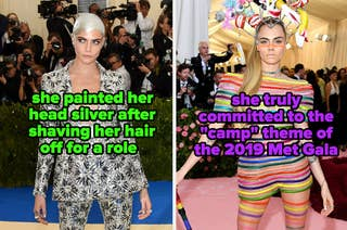she always fully commits to the Met Gala theme