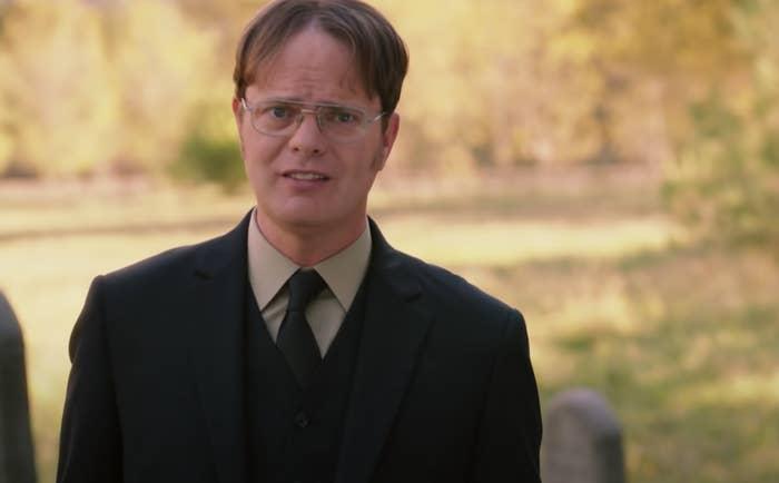 Dwight on his farm