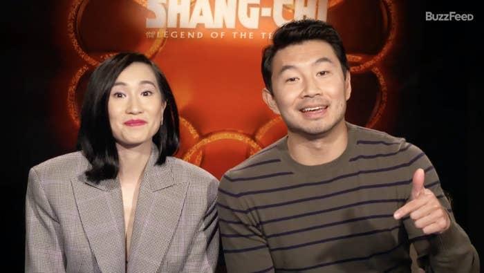 Meng'er Zhang and Simu Liu