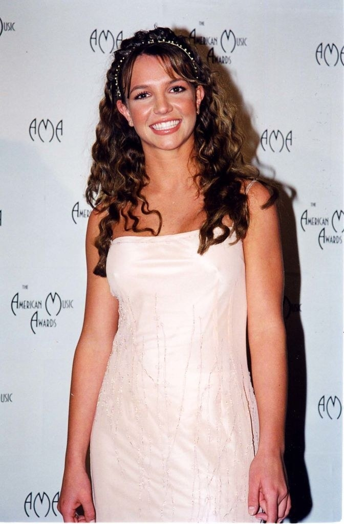 Photo of Britney posing on a red carpet