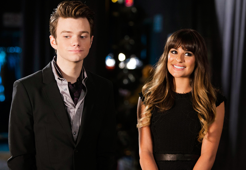 Kurt and Rachel in NY
