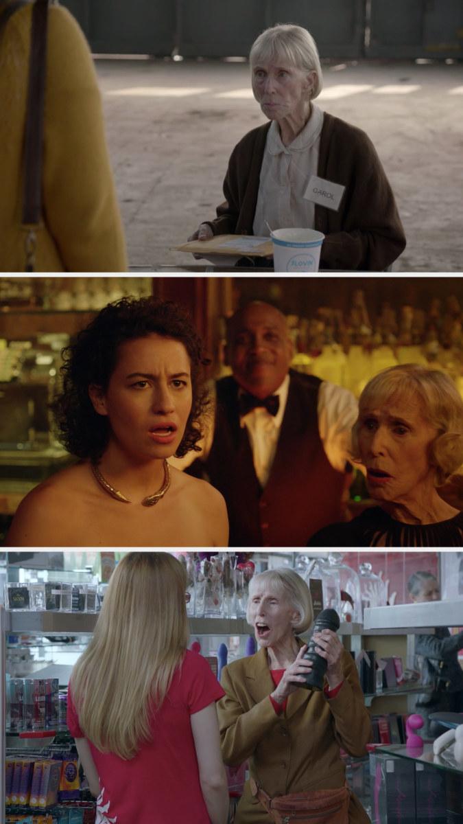 Garol in three different episodes
