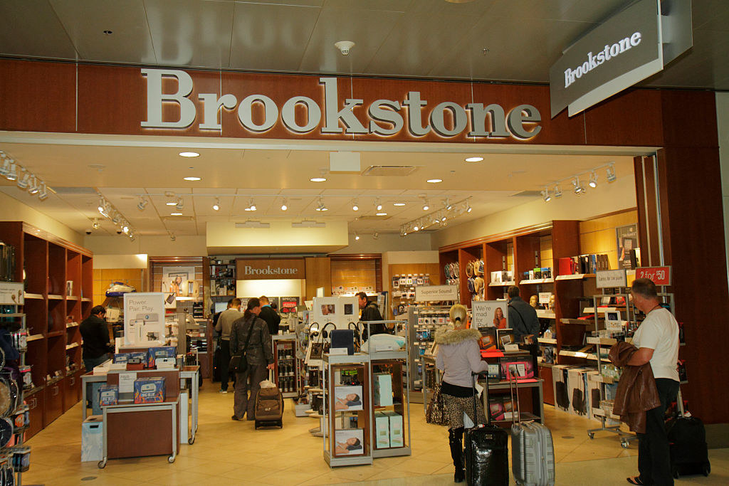 A Brookstone at the mall